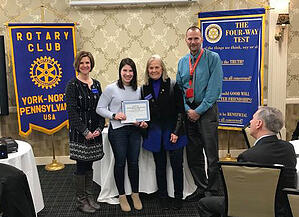 Rotary Student of Month FB-1